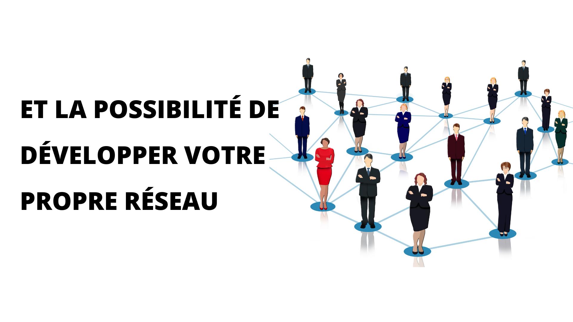 Il est possible de créer et développer son propre réseau et de bénéficier ainsi des fruits du développement de Weezhome partout en France